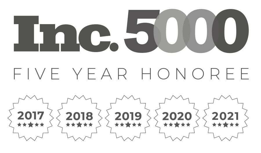 inc-5000 5 years in a row